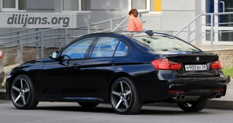 Кованые диски Vindeta Trinity R19 на BMW F30