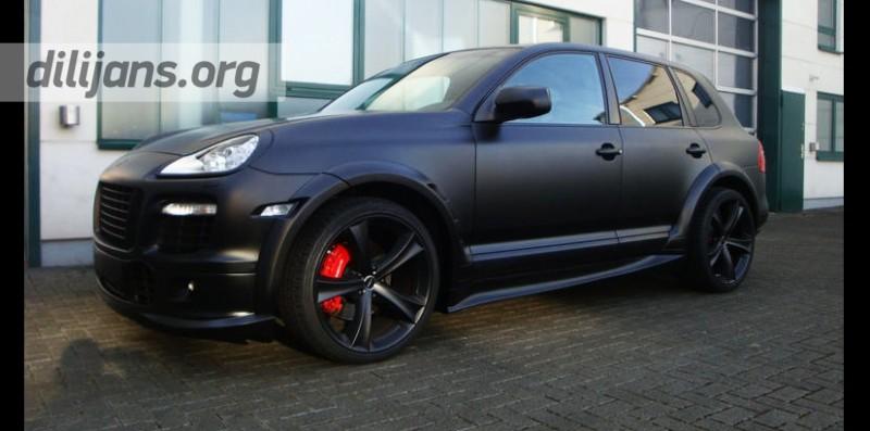 Диски etabeta Tettsut black на Porsche Сayenne