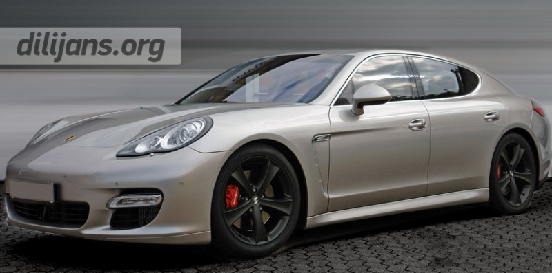 Диски etabeta Tettsut black на Porsche Panamera