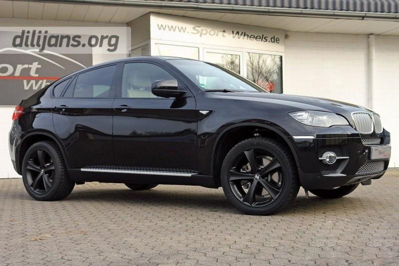 Диски etabeta Tettsut black R20 на BMW X6