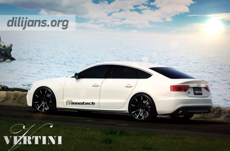 диски Vertini Flying Black R20 на Audi S5