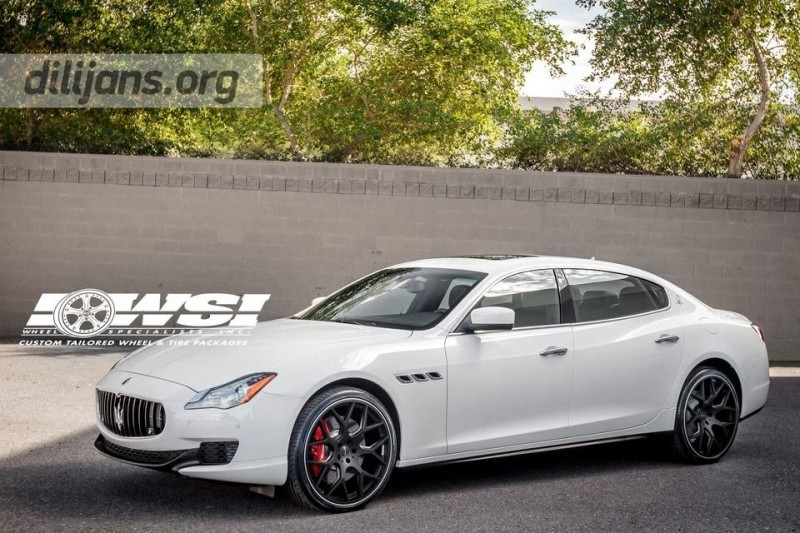 диски Gianelle Puerto Machined Black на Maserati Quattroporte