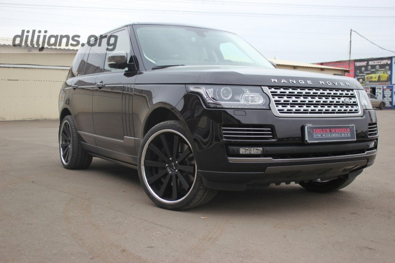 диски Gianelle Santo-2SS на Range Rover Vogue