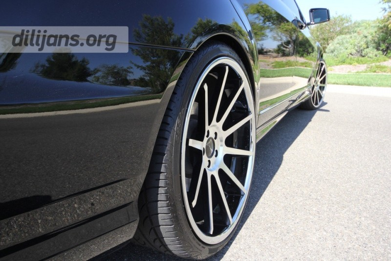 диски Koko Kuture Lindos Machined Black на автомобиле Mercedes Benz S550