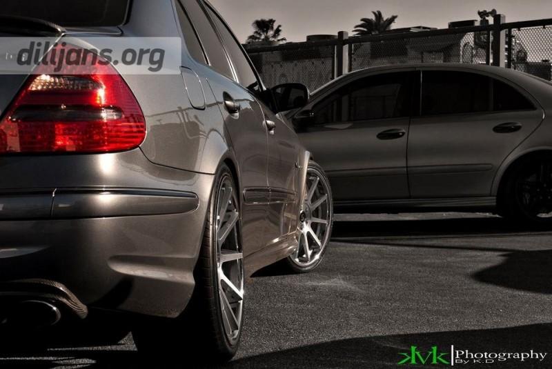 диски Koko Kuture Lindos Machined Black на Mercedes Benz E63 AMG