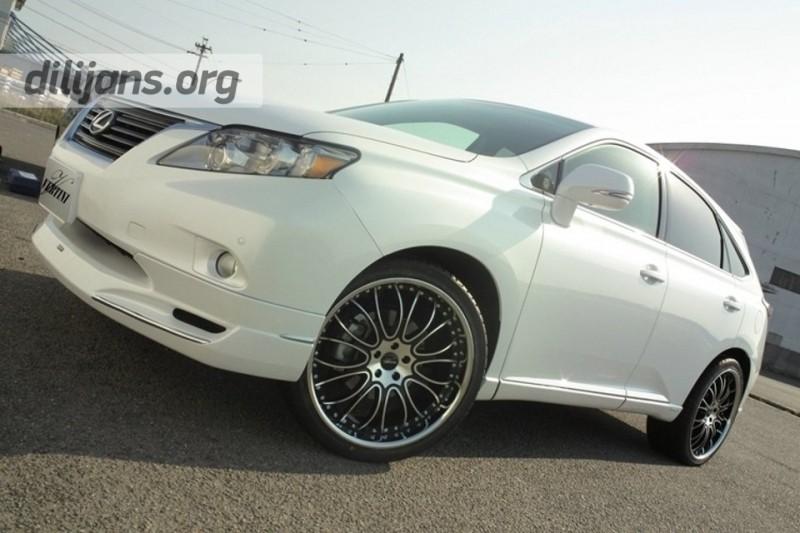 диски Vertini Wheels Fashion на Lexus RX350
