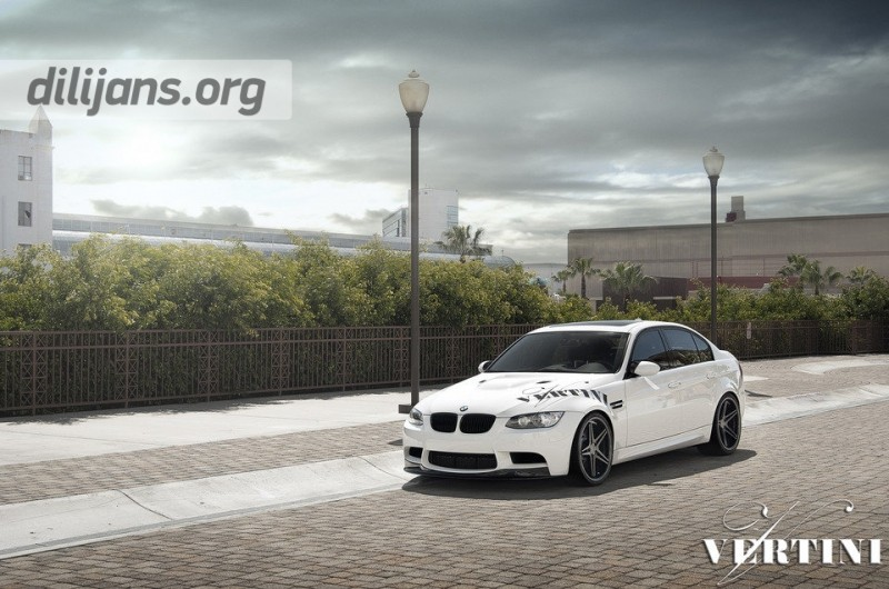 диски Vertini Monaco Matte Black на BMW M3