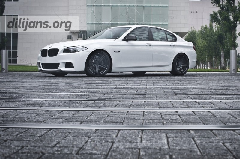 диски Vertini Monaco Matte Black на BMW F10