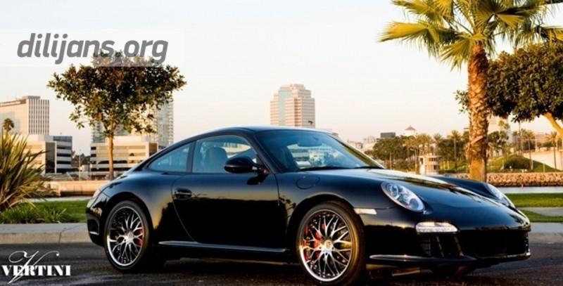 диски Vertini Riviera-S на Porsche Carrera S