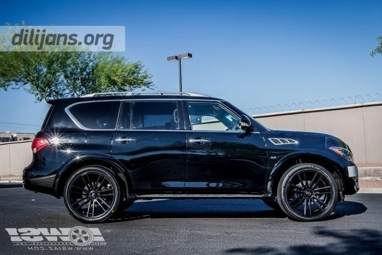 диски Koko Kuture Massa7 Black на Infiniti QX80