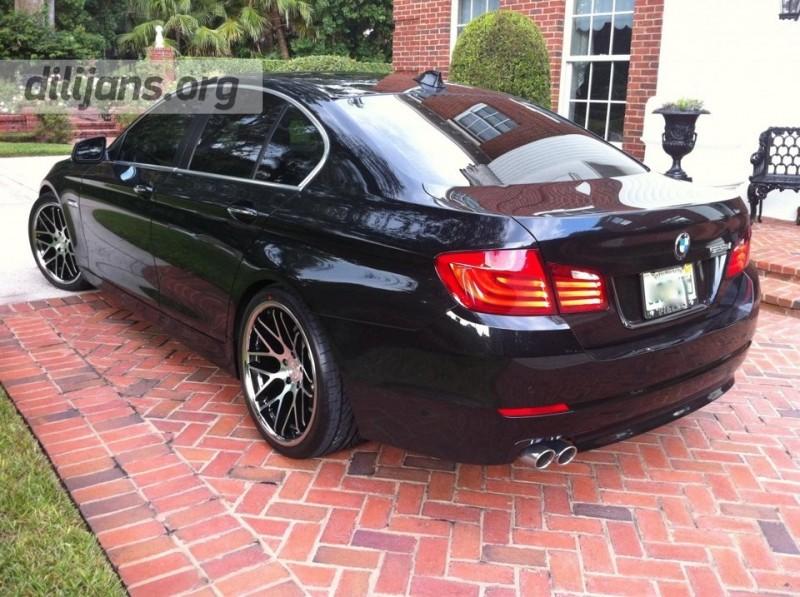 диски Vertini Magic Black Machined на BMW F10