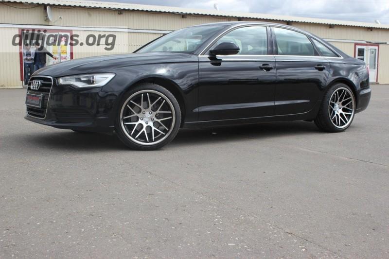 диски Vertini Magic Machined Black на Audi A6