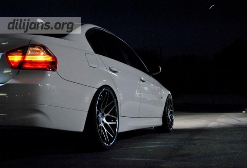 диски Vertini Magic Black Machined на BMW 3