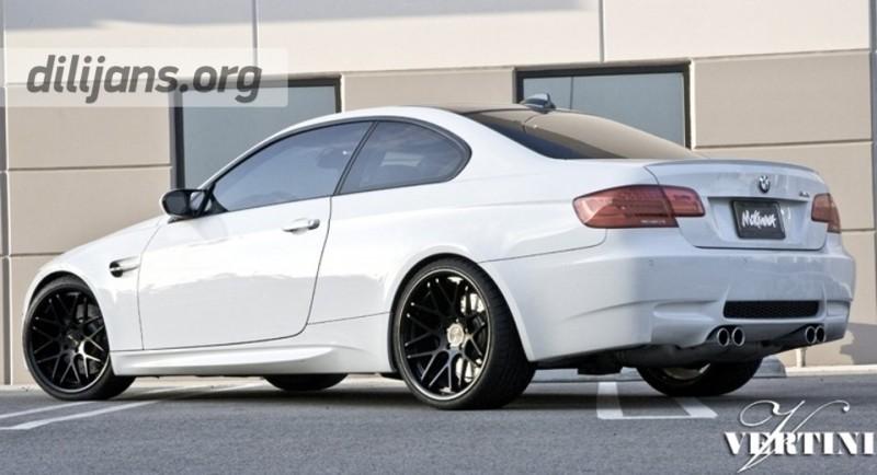 диски Vertini Magic (Matt Black) на BMW M3