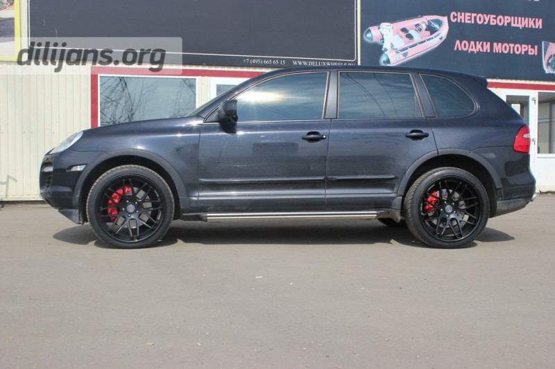 диски Vertini Magic Black на Porsche Cayenne Turbo