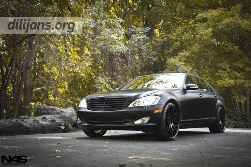 диски Vertini Magic Matte Black на Mercedes Benz S Class
