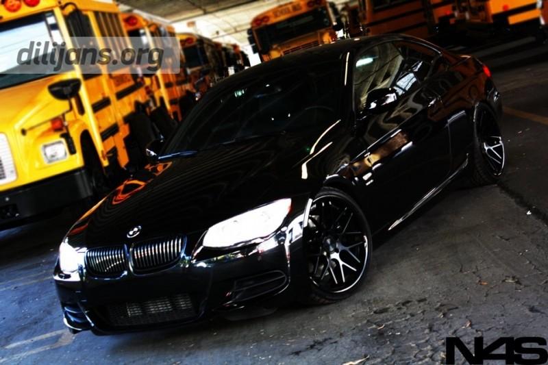 диски Vertini Magic Matte Black на BMW E92
