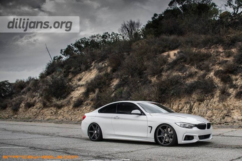 диски Stance Wheels SC-6 Slate Grey на BMW 435