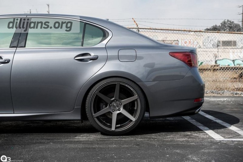 диски Stance Wheels SC-6 Slate Grey на Lexus GS