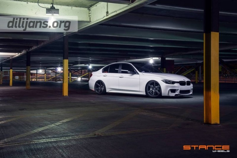 диски Stance Wheels SC-6 Slate Grey на BMW F30