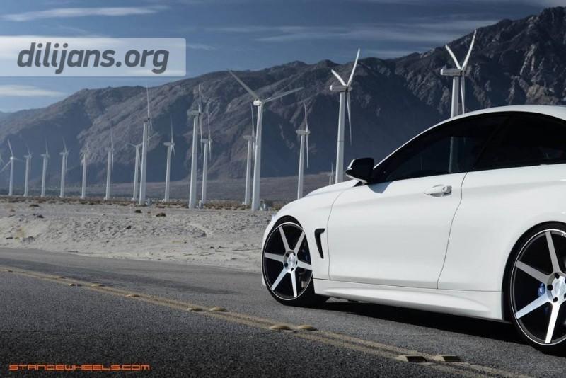 диски Stance Wheels SC-6 на BMW (F32)