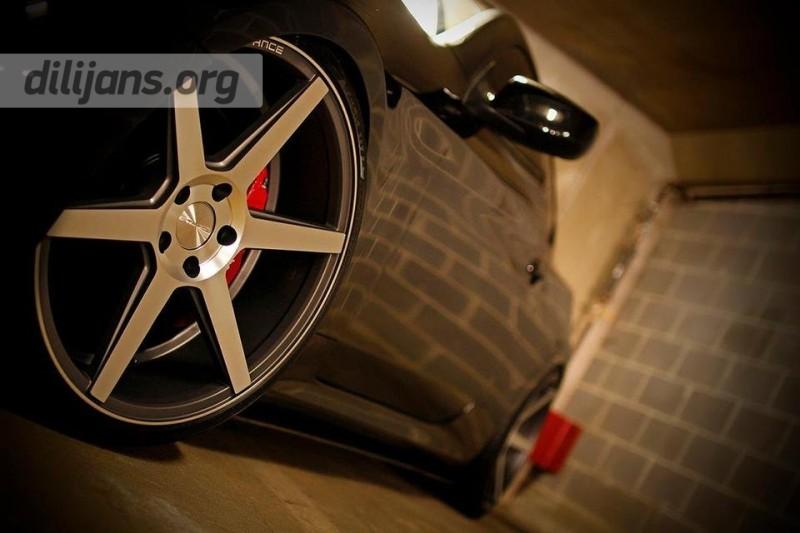 диски Stance Wheels SC-6 Machined Slate Grey на Huyndai Genesis Coupe