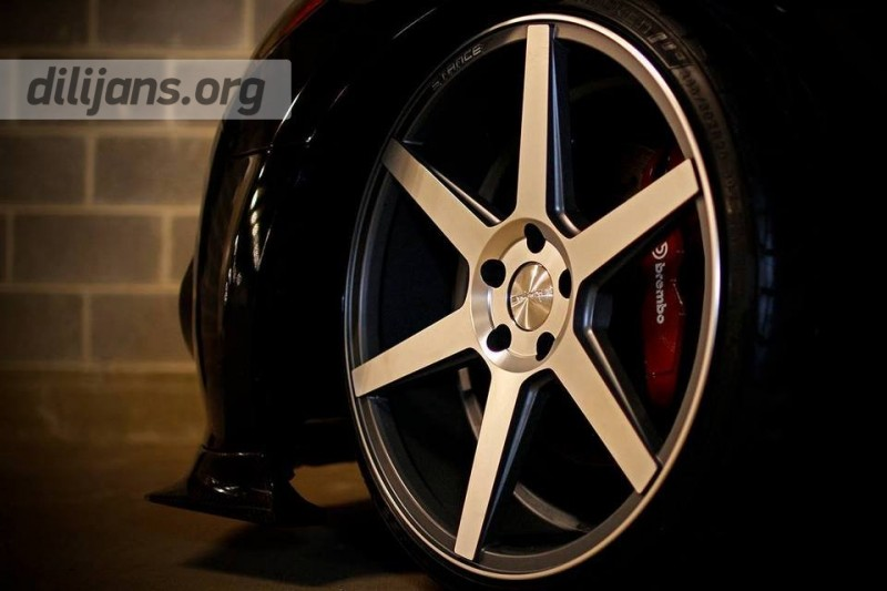 диски Stance Wheels SC-6 Machined Slate Grey на Huyndai Genesis Coupe