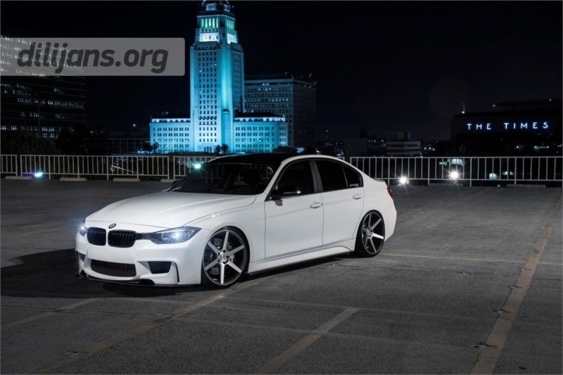 диски Stance Wheels SC-6 Slate Grey Machine на BMW F30