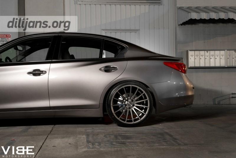 диски Stance Wheels SC-7 Slate Grey на Infiniti Q50