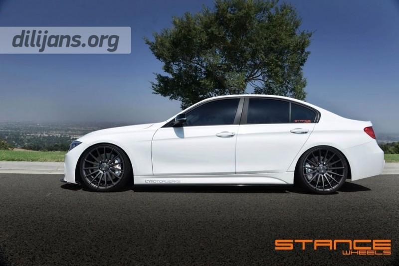 диски Stance Wheels SC-7 Slate Grey на BMW F30