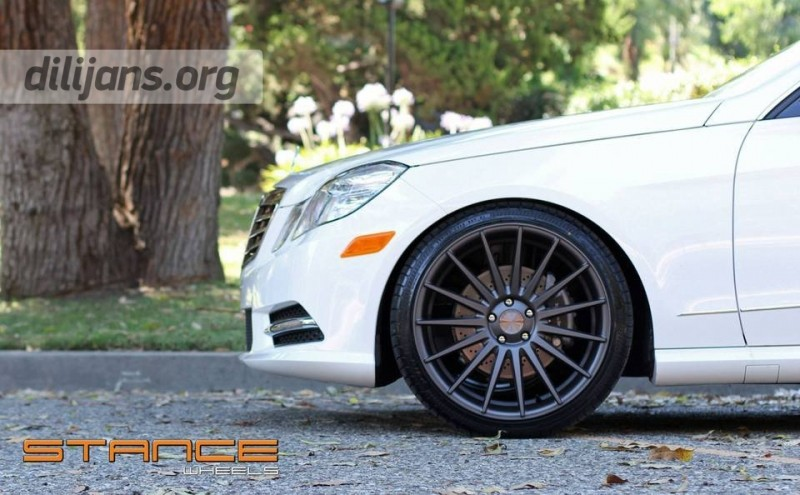 диски Stance Wheels SC-7 Slate Grey на Mercedes Benz E Class
