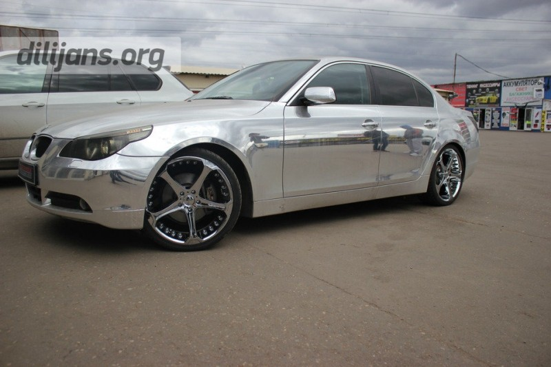 диски Giovanna Dalar-5 Chrome на BMW 5 Series E60