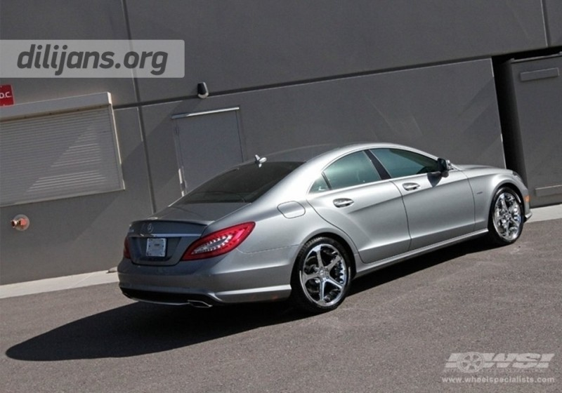 диски Giovanna Dalar-5 Chrome на Mercedes Benz CLS
