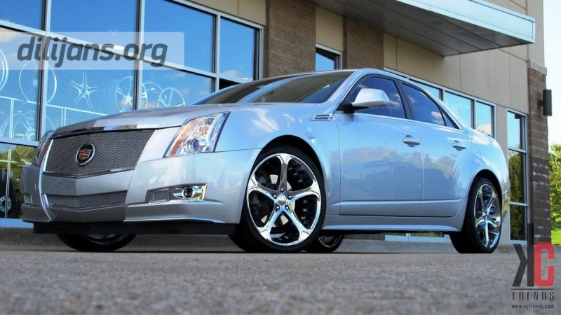 диски Giovanna Dalar 5V Chrome на Cadillac CTS