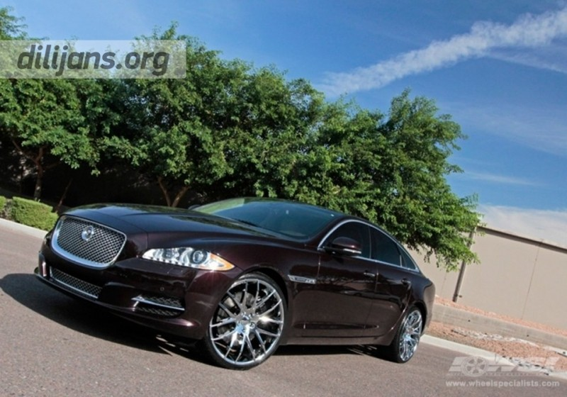 диски Giovanna Kilis Chrome на Jaguar XJ