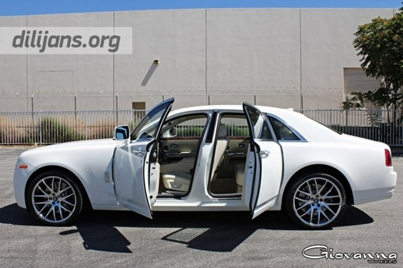 диски Giovanna Kilis Chrome на Rolls-Royce Ghost