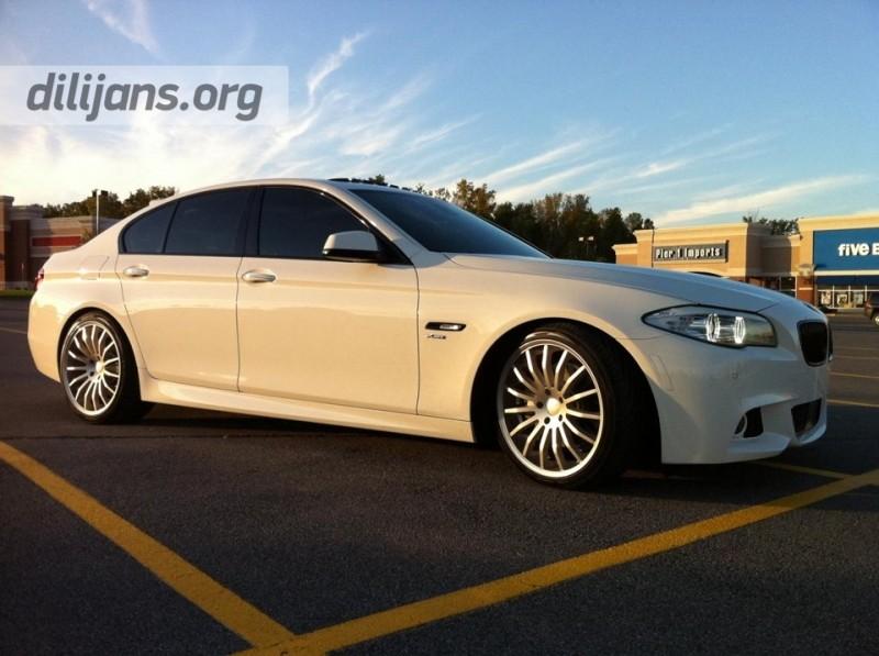диски Giovanna Martuni Silver на BMW 550 F10
