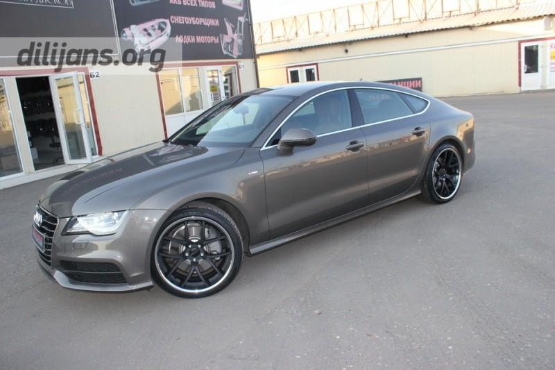 диски Giovanna Monza Black на Audi A7