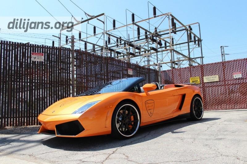 диски Giovanna Monza Black на Lamborghini Gallardo