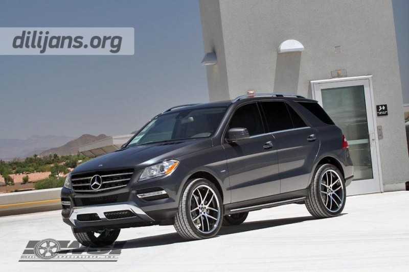 диски Giovanna Monza Machined Black на Mercedes Benz ML