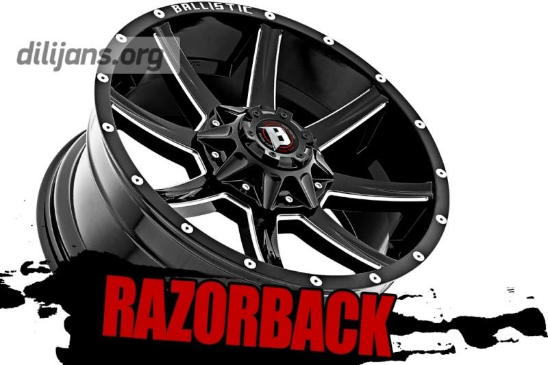 диски Ballistic Razorback