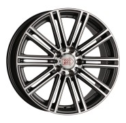 Фото диска 1000 MIGLIA MM1005 8.5x19 5/112 ET45 DIA 66.6 Dark Anthracite Polished