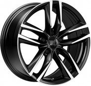 Фото диска 1000 MIGLIA MM1011 8x18 5/112 ET40 DIA 66.6 Gloss Black Polished