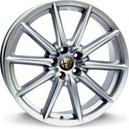 Фото диска ALFA ROMEO W251 CANNES 8x18 5/110 ET41 DIA 65.1 diamond black
