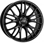 Фото диска ATS Perfektion 8x17 5/100 ET40 DIA 63.3 BLACK POLISHED