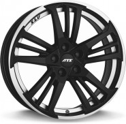 Фото диска ATS Prazision 8.5x19 5/108 ET45 DIA 70.1 Racing Black Double lip polish