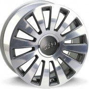 Фото диска AUDI W535 RAMSES 7.5x17 5/100 ET42 DIA 57.1 anthracite polished