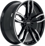 Фото диска Alutec Drive 7.5x17 5/120 ET34 DIA 72.6 Diamond Black Front Polished