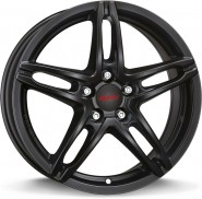 Фото диска Alutec Poison 6x15 5/100 ET40 DIA 57.1 Racing Black