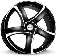 Фото диска Alutec Shark 8x18 5/115 ET45 DIA 70.2 Racing Black Front Polished